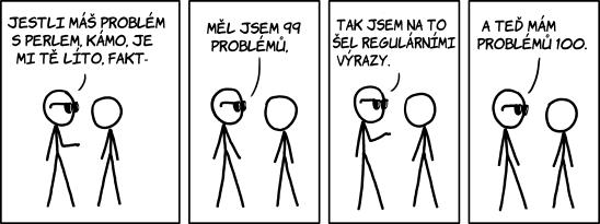 Problémy s Perlem