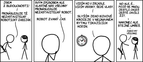 Robot času