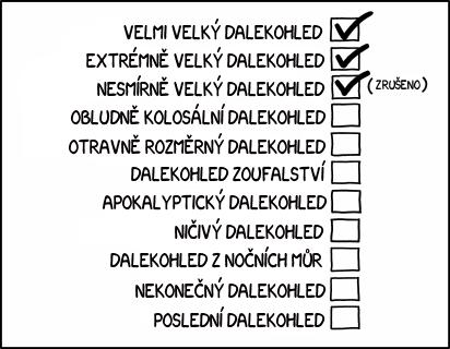 Názvy dalekohledů