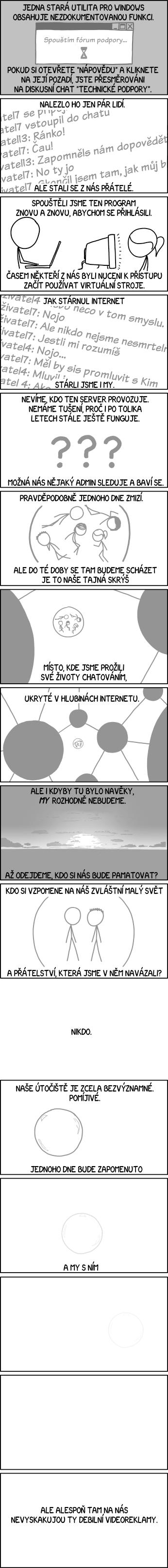 Nezdokumentovaná funkce