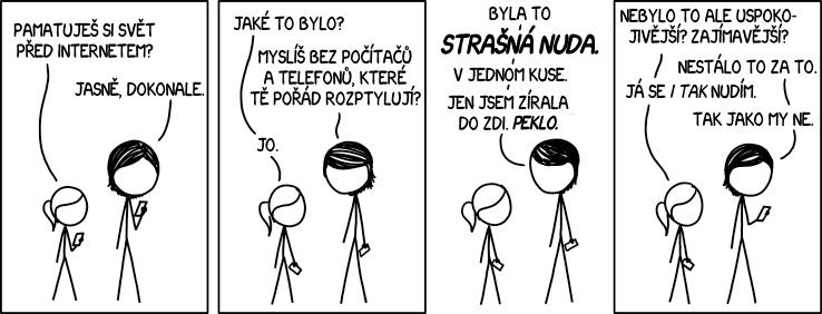 Před internetem