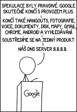 Oznámení společnosti Google