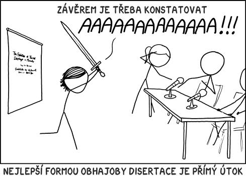 Obhajoba disertace