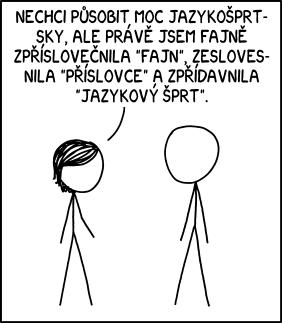 Jazykový šprt