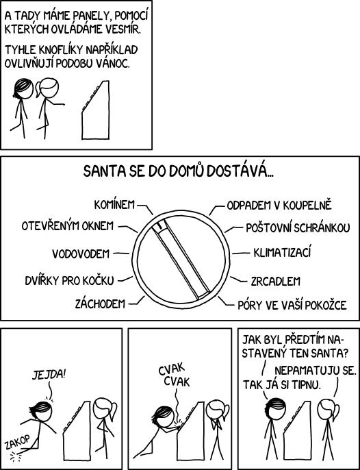 Nastavení Vánoc