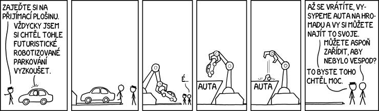 Robotizované parkování