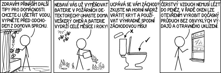 Tipy do domácnosti