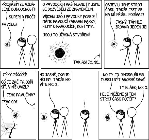 Pavoučí paleontologie