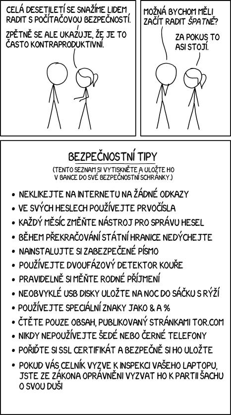 Bezpečnostní tipy