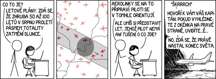 Lety zatměním